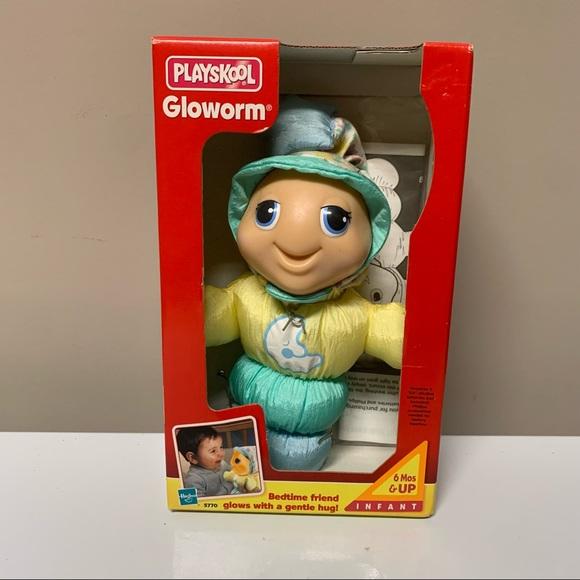 New Vintage Playskool GloWorm Light Up Toy 1999